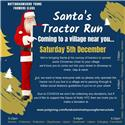 Update: Santa Tractor Run This Weekend
